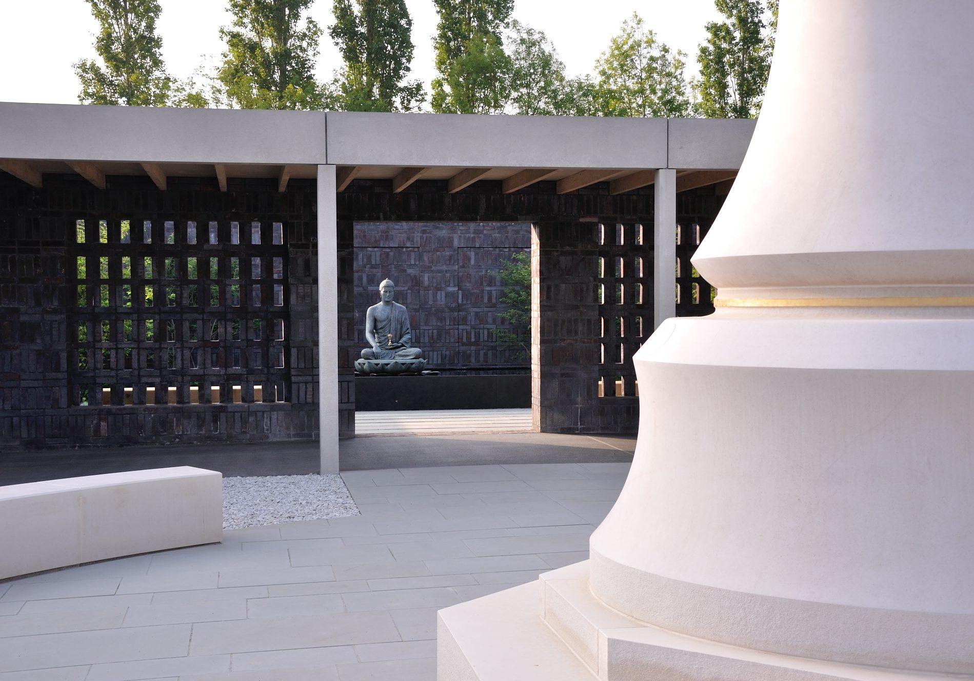 Stupa and Aksshobhya